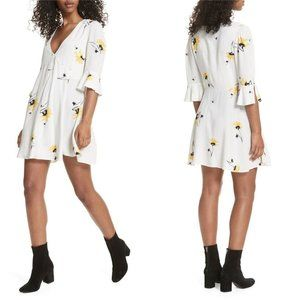 Free People Dresses - Free People Time On My Side Floral Print Wrap